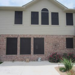 High Density Black Solar Window Screens - Austin Shade Team