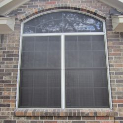 Black Fabric Window Cover - Austin Shade Team