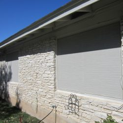 White Sun Screen Fabric - Austin Shade Team