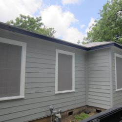 Solar Window Screens With White Frame - Austin Shade Team