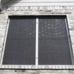 Black Window Sun Screens - Austin Shade Team