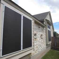 Black Fabric Screens For Windows - Austin Shade Team