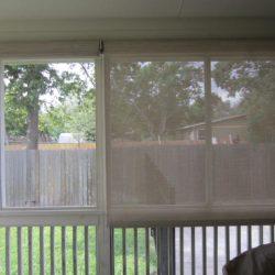 Indoor Roller Solar Window Screen - Austin Shade Team