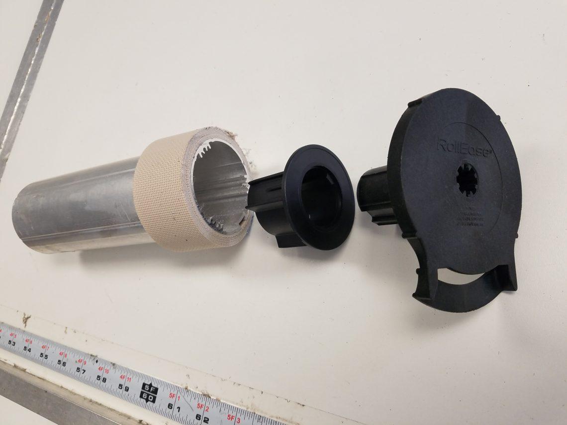 "Sunshade clutch and 2-1/2"" tube"