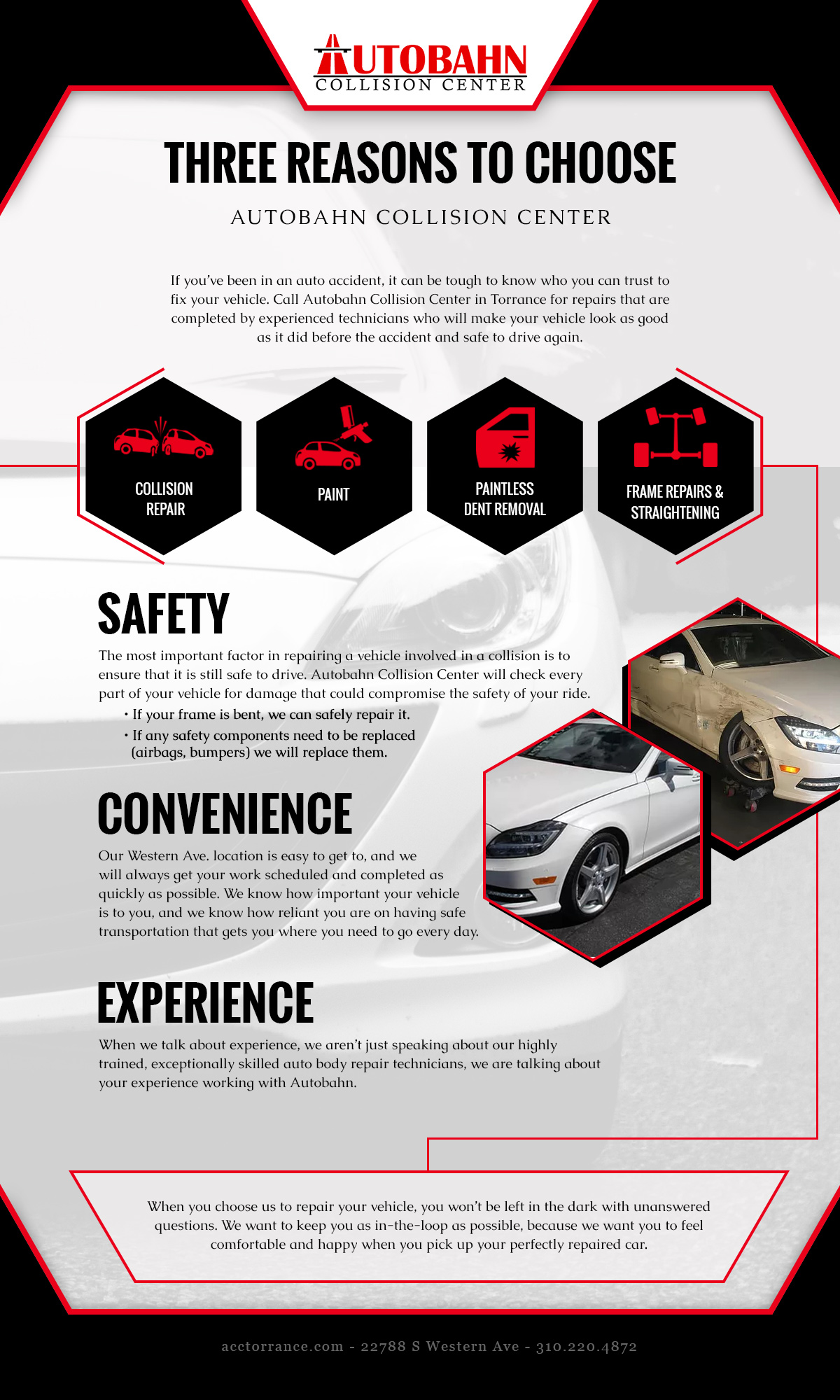 Body Shop Torrance: Three Reasons to Trust Autobahn Collision Center