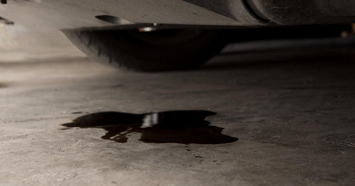 Land Rover Engine Fuel Leak