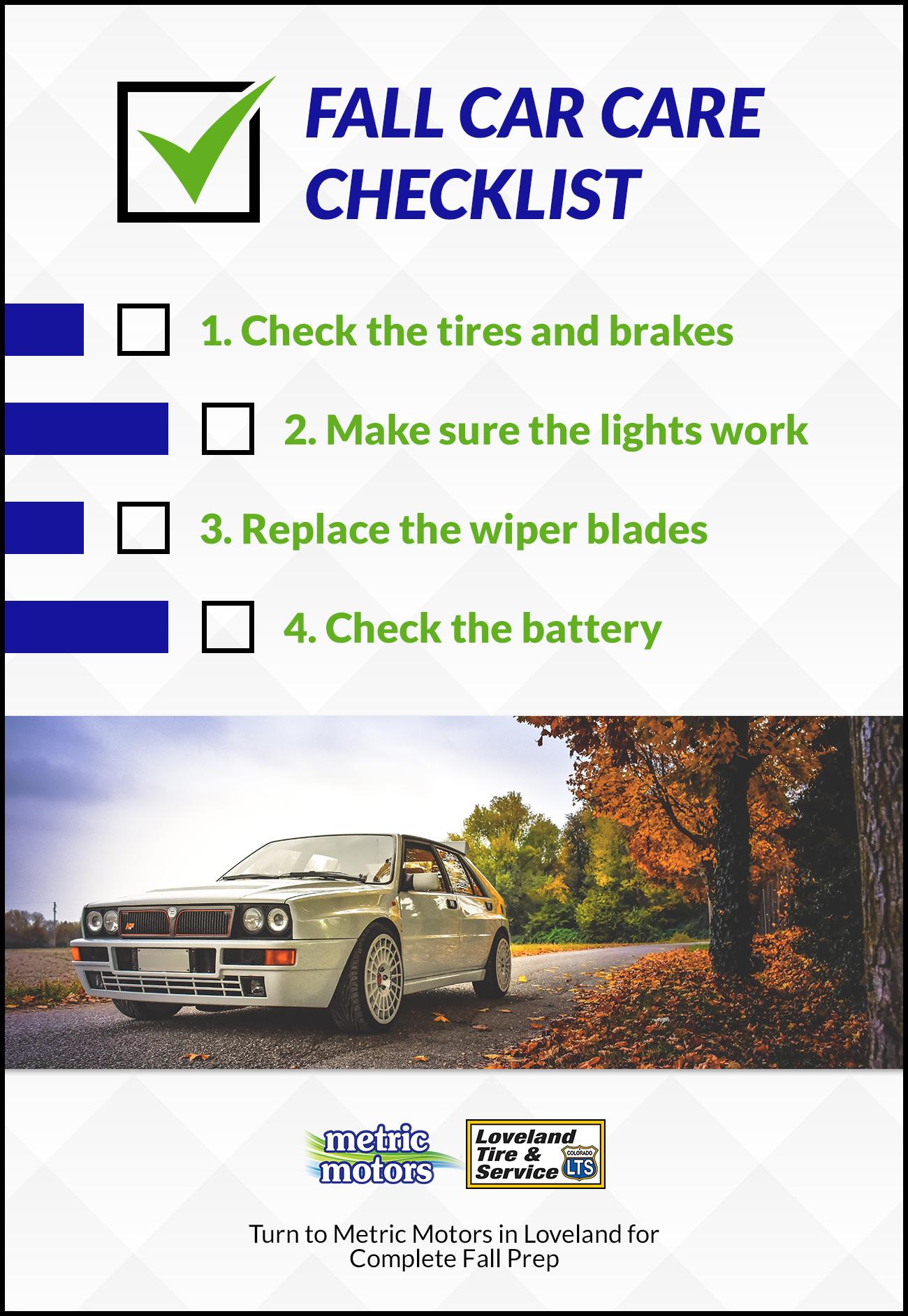 Auto Mechanic Loveland: Autumn Prep Checklist