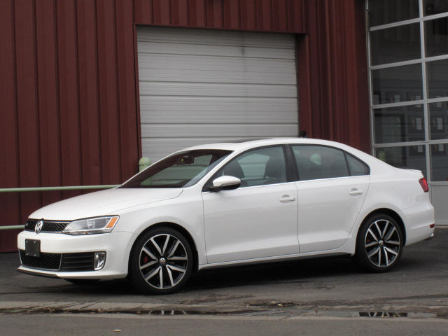 White VW Jetta