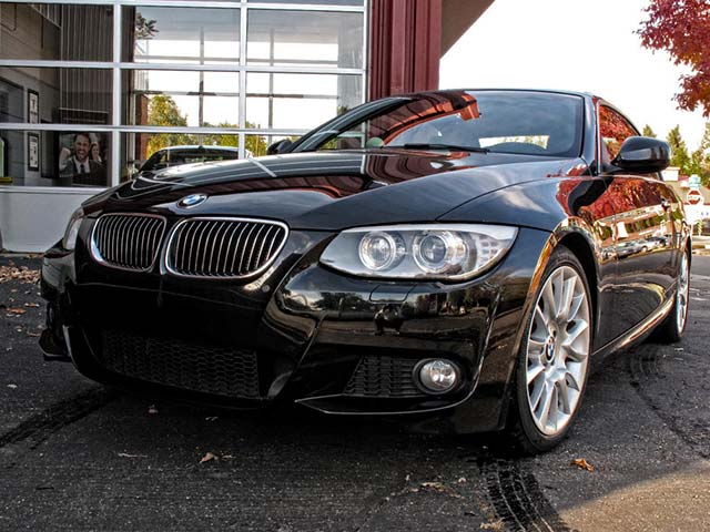 BMW 328i Front Closeup