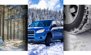 Snow Driving Triptych