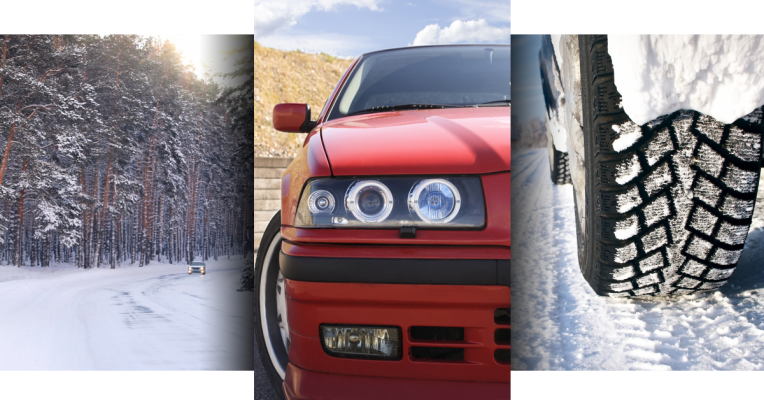 Winter and Your BMW Triptych