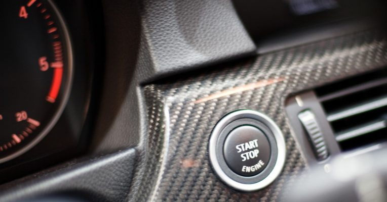 Ignition Button on Dashboard