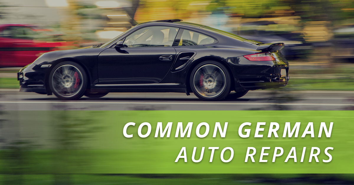 Common German Auto Repairs