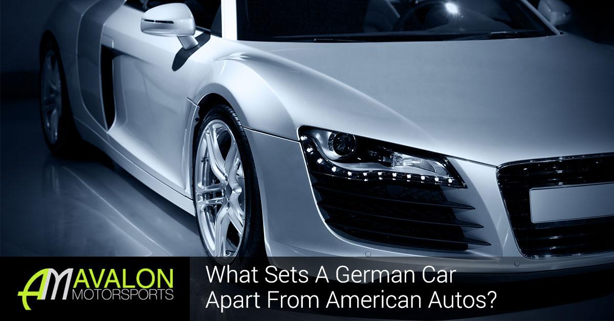 German Car Vs. American Banner