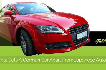 German Car Vs. Japanese Banner