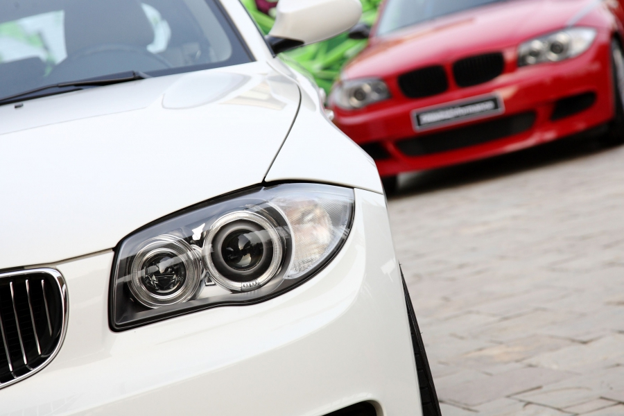 BMW Cars Closeup