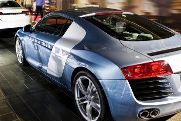 Two-Tone Sports Car