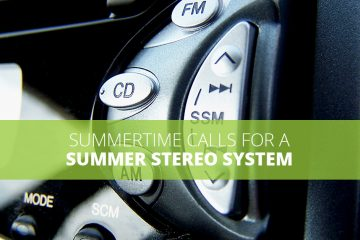 Summer Stereo System Banner