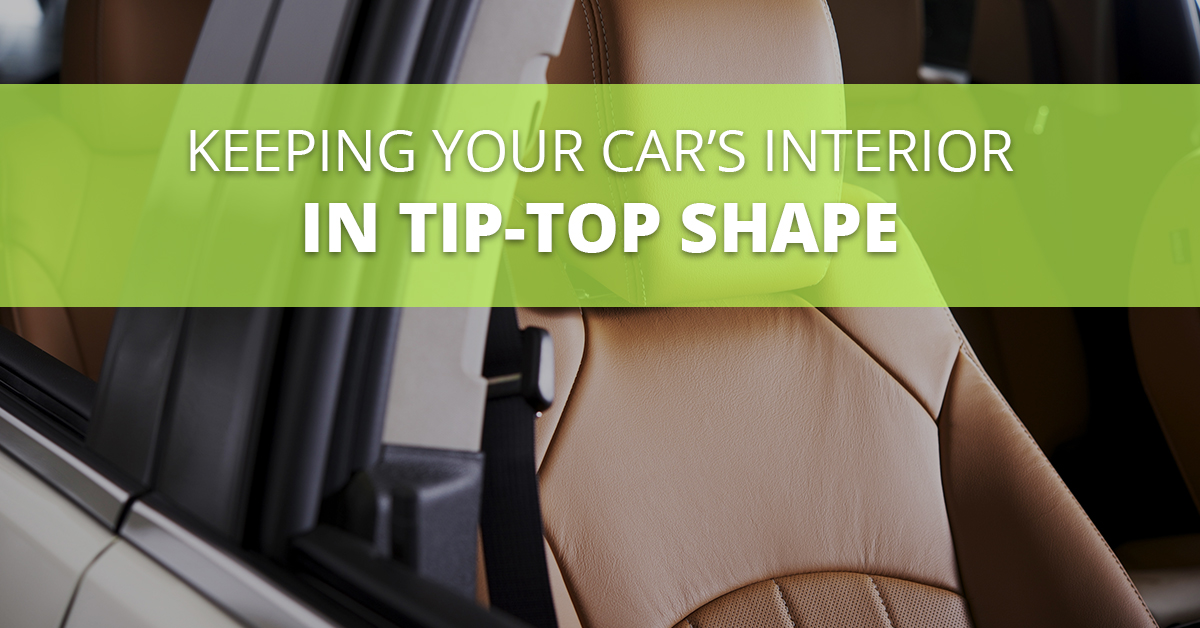 Maintaining Your Vehicle's Interior