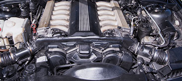 Engine Block Closeup