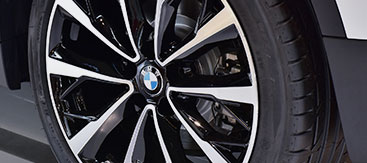BMW Tire Closeup