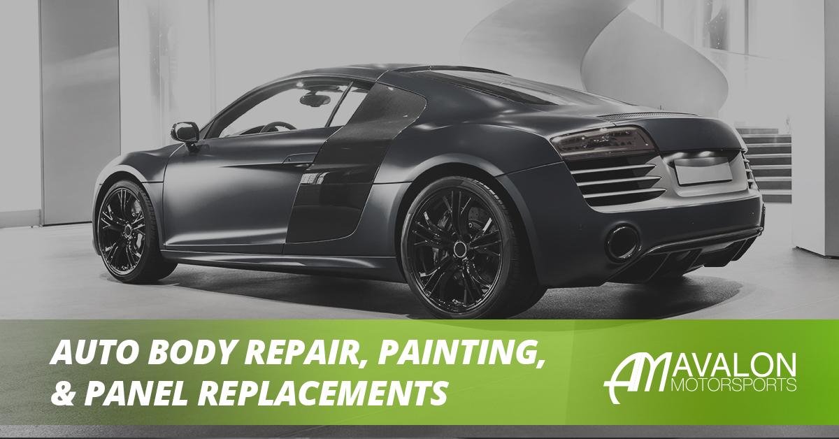 Auto Body Repair Banner