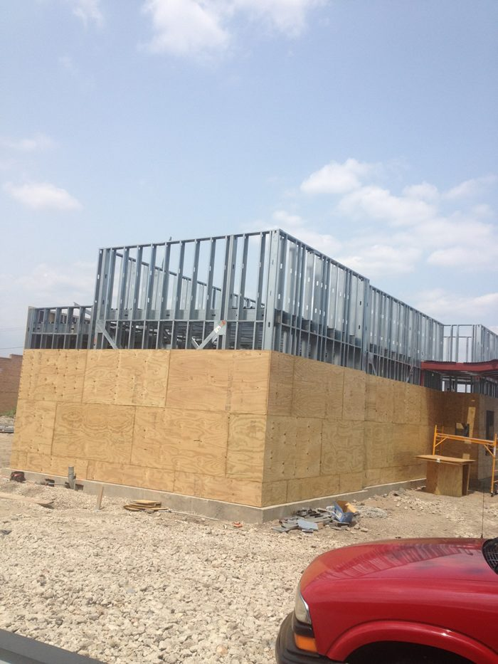Metal Studs Framing in Chicago by AZ Drywall Finishing in Chicago