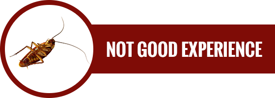 Not Good Experience Button