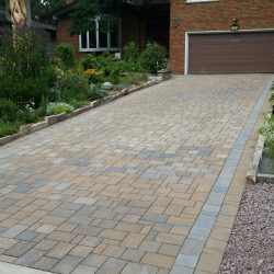 Neighborhood Driveway With Ground Stabilization - B8 Ventures
