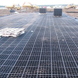 Installation Of Soil Stabilization Matting - B8 Ventures