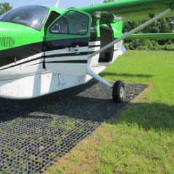 Permeable Ground Reinforcement For Airplane Landing Pad - B8 Ventures