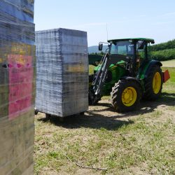 Ecoraster Gravel Grids Pre-Installation - B8 Ventures