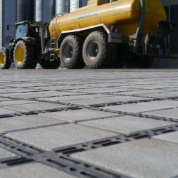 Permeable Paving For Construction Parking Lot - B8 Ventures