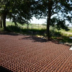 Country Driveway With Permeable Ground Reinforcement - B8 Ventures