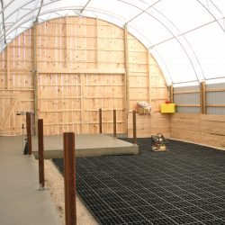 Permeable Ground Reinforcement In Barn - B8 Ventures