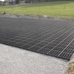 Permeable Erosion Control Matting For Gravel Surface - B8 Ventures