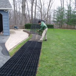 Permeable Ground Stabilization For Residential Driveway - B8 Ventures