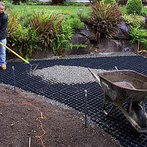 Landscaping With Erosion Control Matting From B8 Ventures