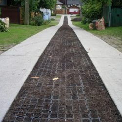 Permeable Walkway Paver In Neighborhood - B8 Ventures