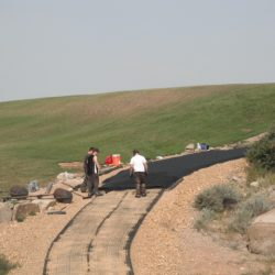 Erosion Control Matting Installation Process - B8 Ventures