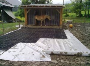 Ecoraster goes right over your muddy horse paddock to make life better