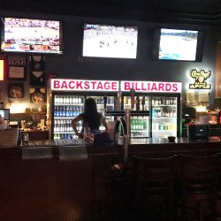 Image of Beer Fridge at BackStage Billiards