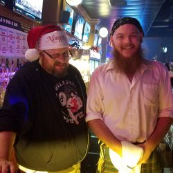Image of Santa and Friends at Backstage Billiards