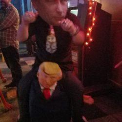 Image of Putin Riding Trump in Backstage Billiards