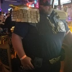 Image of Home-made Gladiator Coustume