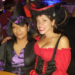 Image of a Couple of Halloween Witches