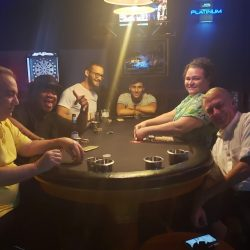 Image of Players at Poker Table