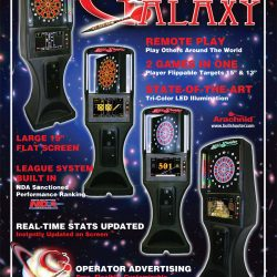 Poster of Galaxy Dart Boards