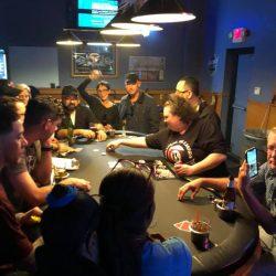 Image showcasing poker tournament