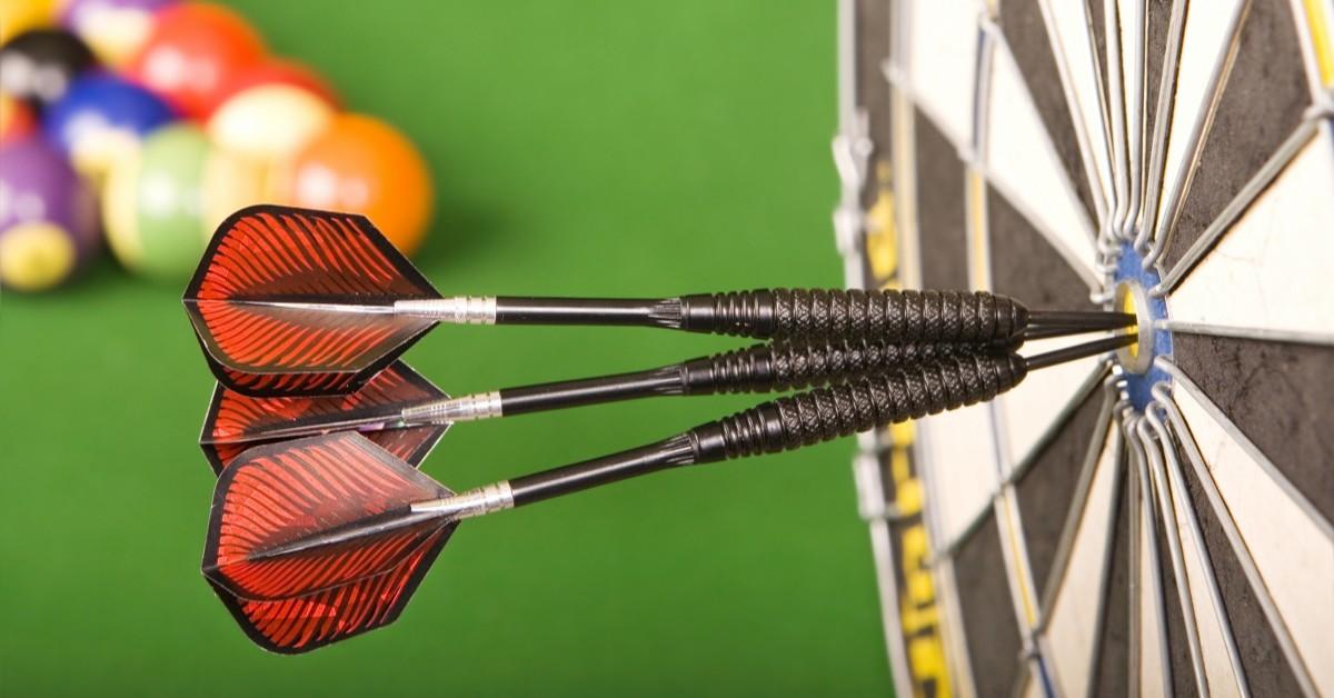 Image of Three Double Bullseyes